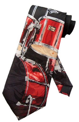 Red Drum Set Tie