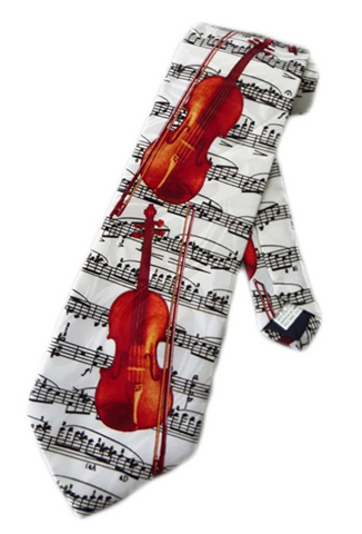 Violin Sheet Music Tie