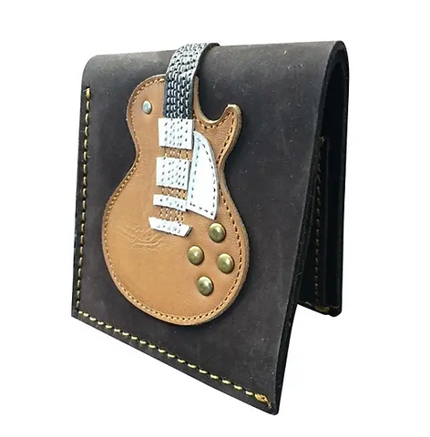Guitar Wallet - Honey Burst