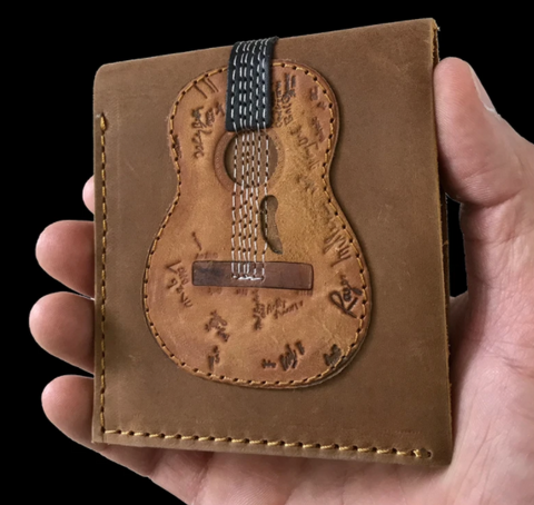 "Guitar Wallet - Willie Nelson's ""Trigger"""