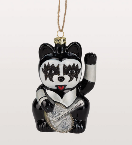 KISS Lucky Cat Ornament