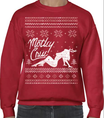 Motley Crue Holiday Sweatshirt