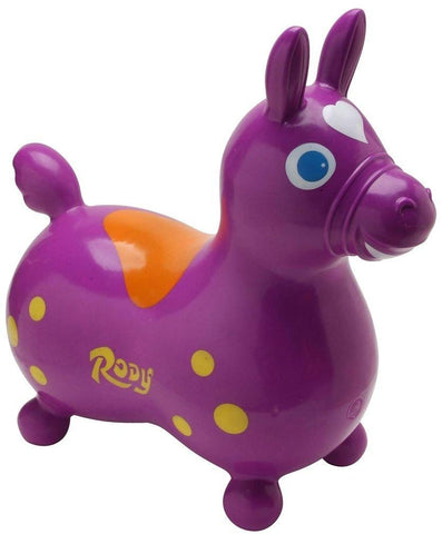 Purple Rody Riding Horse