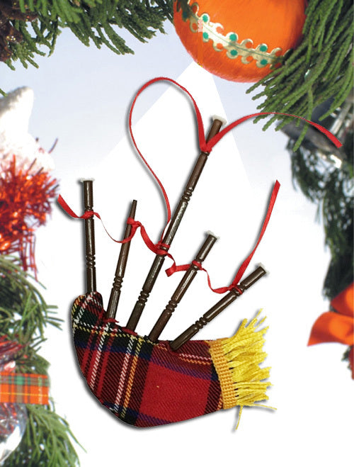 Bagpipes Ornament