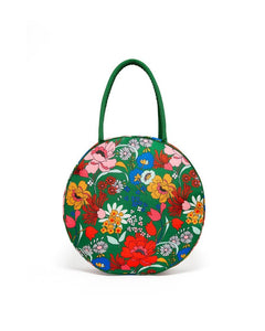 Picnic Cooler Bag - Emerald Super Bloom