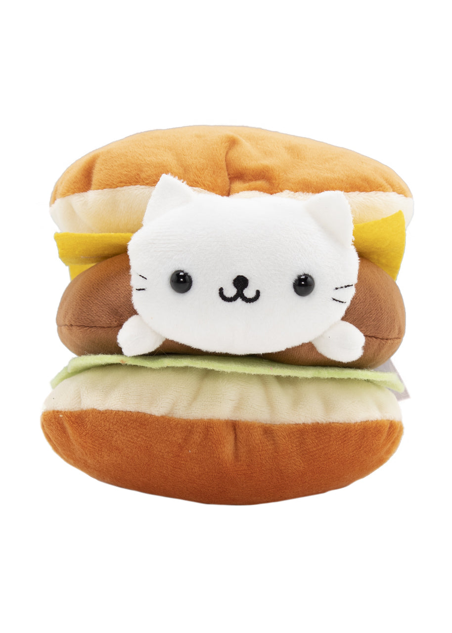 "Nyanko 5"" Cheeseburger Plush"