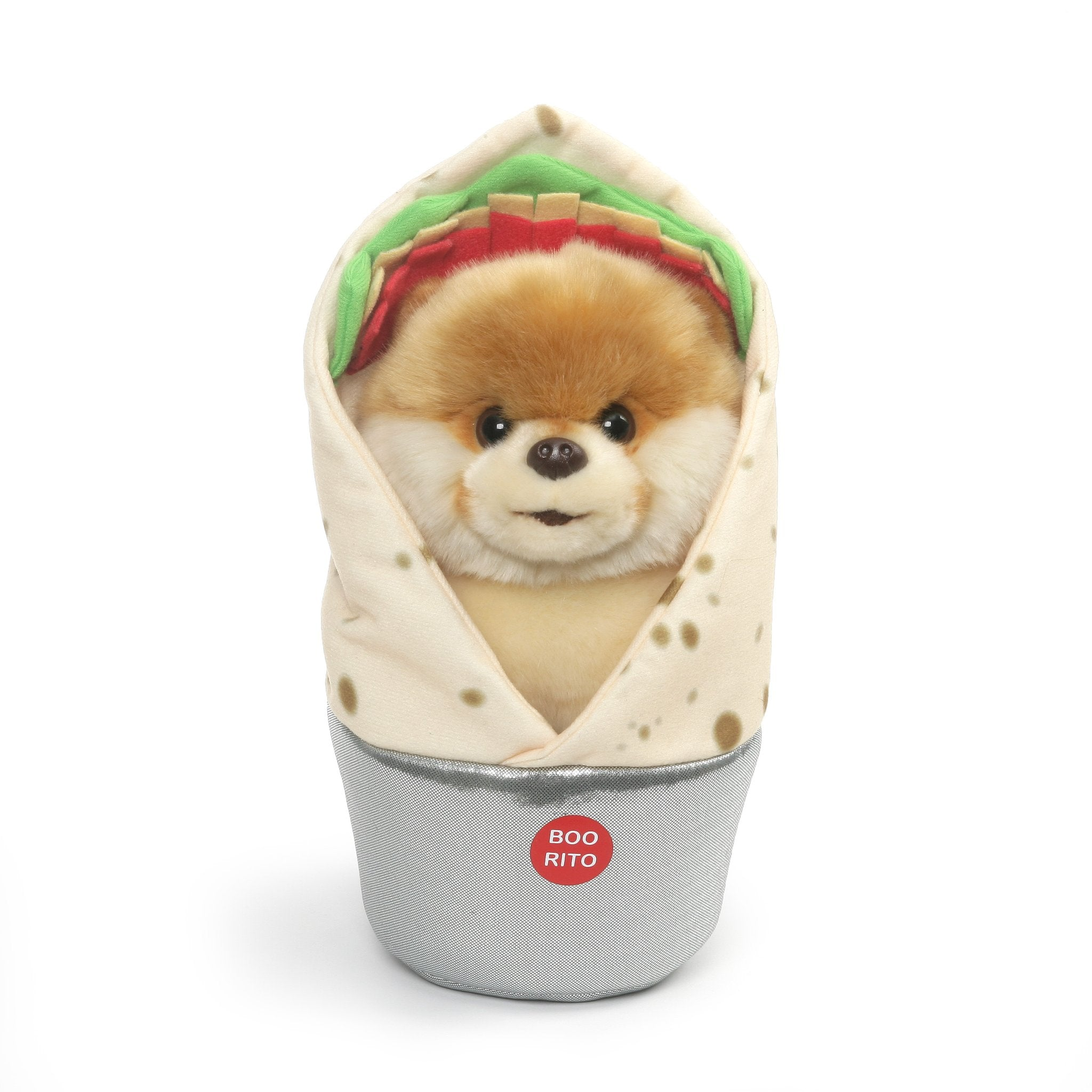 "Boo Cutest Dog Boo-rrito 9"" Plush"