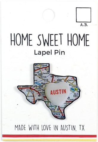 Home Sweet Home Lapel Pin