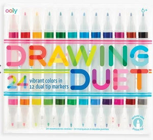Drawing Duet Marker Set 12pc