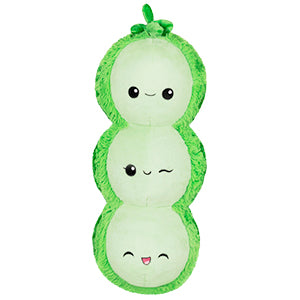 Squishable Pea Pod Plush
