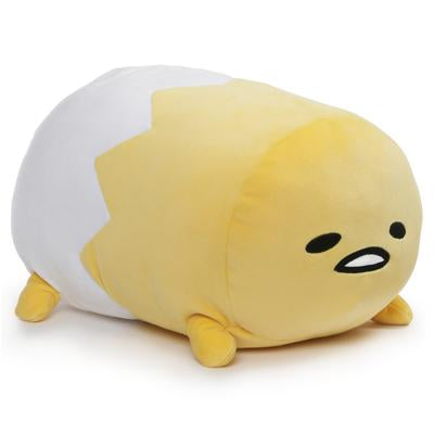 Gudetama Laying Down Log Plush