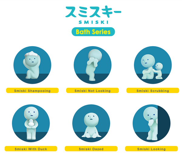 Smiski Bath Series: Mini Blind Box Series SINGLE