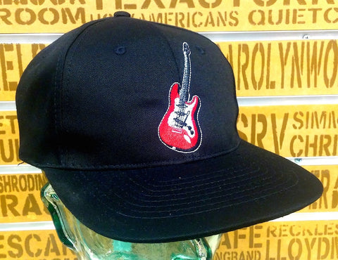 Red Electric Guitar Hat