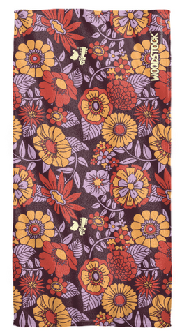 Woodstock Floral Beach Towel