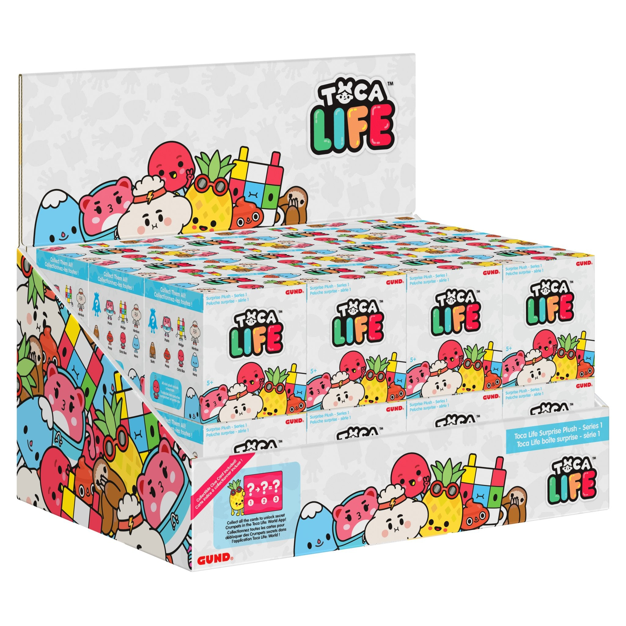 Toca Life Blind Box Series 1:  Plush Blind Box Clip Series SINGLE