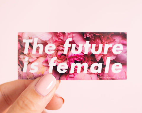 Vinyl Sticker The Future is Female
