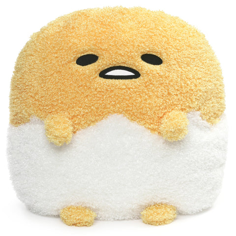 "Deluxe Gudetama Egg in Shell 17"" Plush"