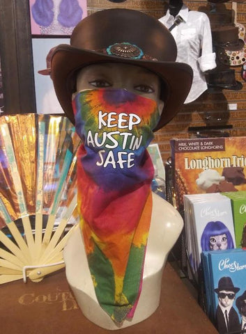 Keep Austin Safe Bandana/Face Covering