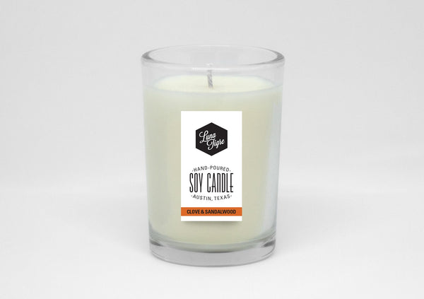 Clove and Sandalwood Soy Candle