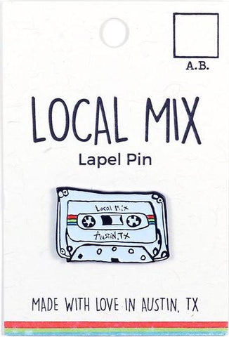 Local Mix Lapel Pin