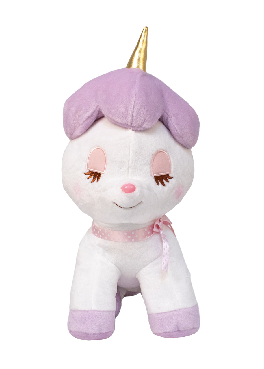"Amuse Unicorn Purple 20"" Plush"