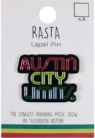 ACL Rasta Lapel Pin
