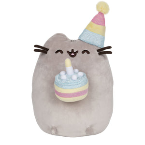 "Birthday Cake Pusheen 9"" Plush"