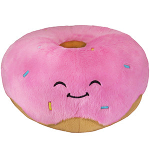 Squishable Pink Donut Plush