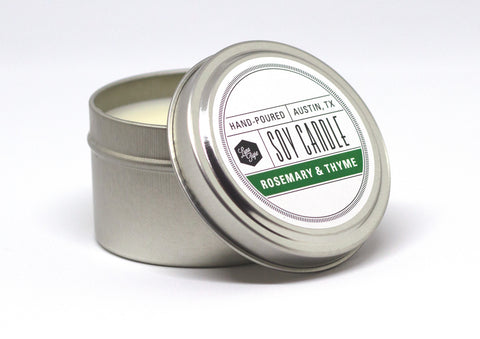 Rosemary & Thyme Soy Candle