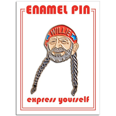 Willie Nelson Lapel Pin