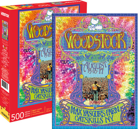 Woodstock 500pc Puzzle