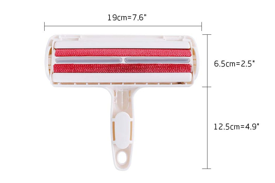 Dog pet hair remover dimensions