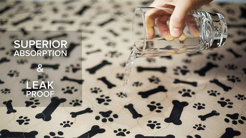 Reusable Dog Pee Pad Super Absorbent Protection