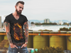 Men's Hades Rising V-Neck T-Shirt