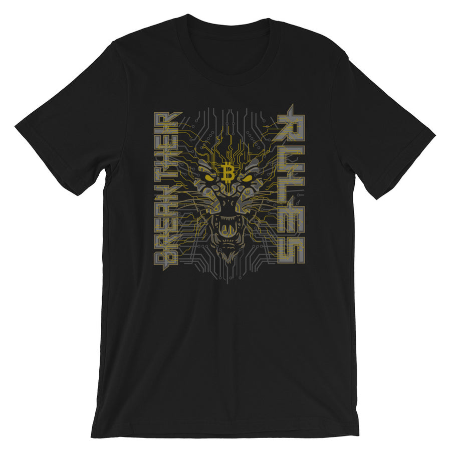 Regulus Rising Black T-Shirt For Men