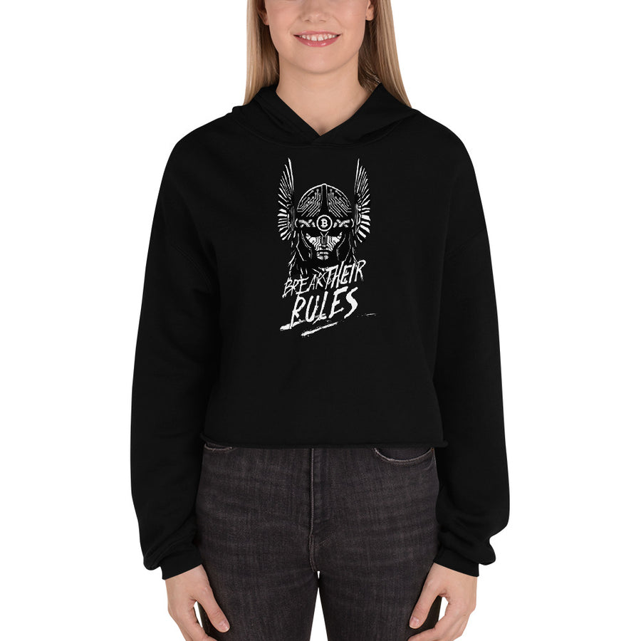 Nemesis Rising Crop Hoodies T-shirt