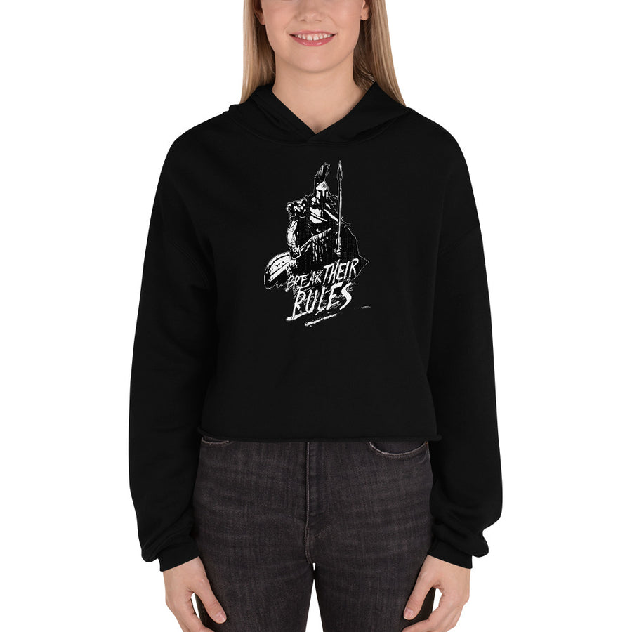 Prepare for War Crop Women Hoodie Shirt