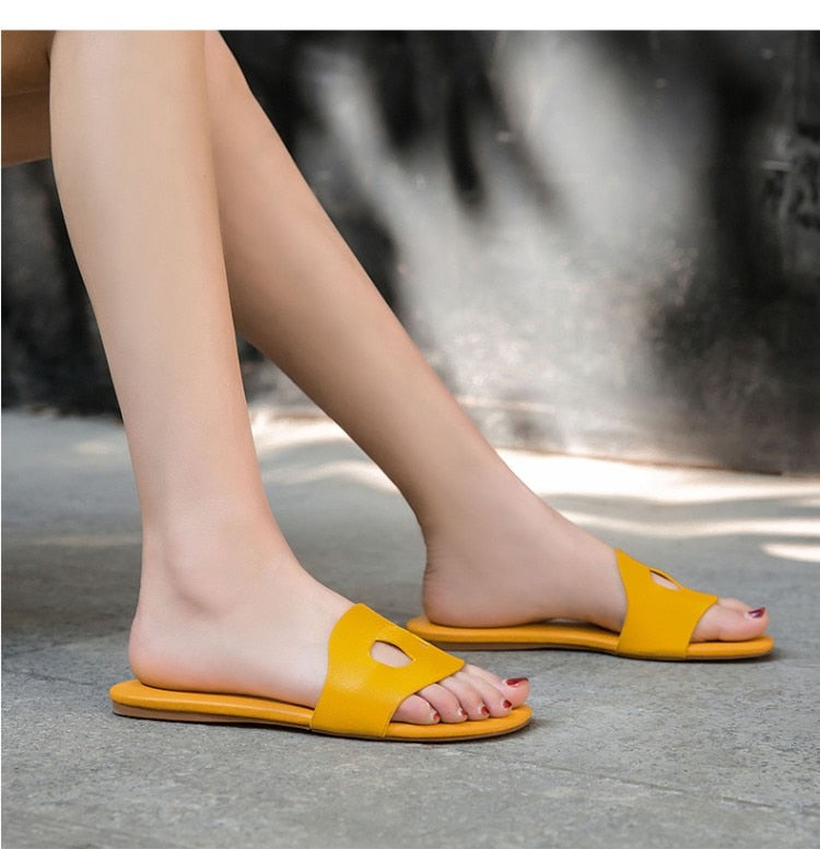 Outdoor Flat Slippers