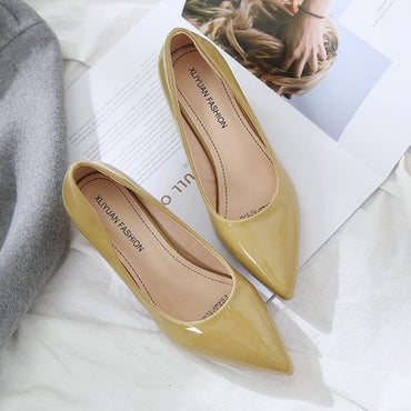 Elegant temperament Shallow Mouth High Heel