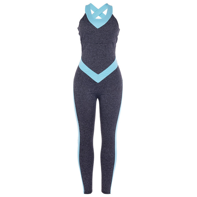Yoga Costume Dry Fit Gym Fitness Suit