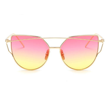 Cat eye Flat Rose Sunglasses