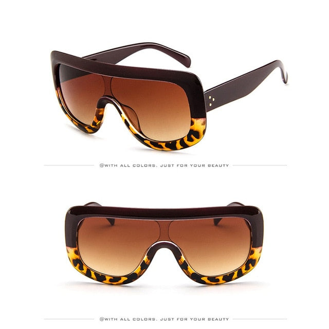 Luxury Big Frame Sunglasses Women