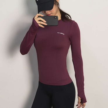 Gym Long Sleeve Yoga Shirts