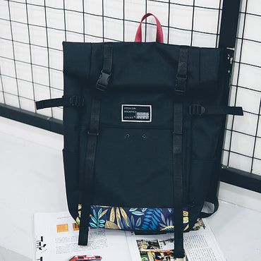Unique Large Shoulder Oxford Backpack