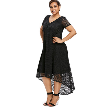 Plus Size sundress Midi Dress
