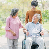 Mobility aid and equipment for senior - walkers, frames, walking sticks