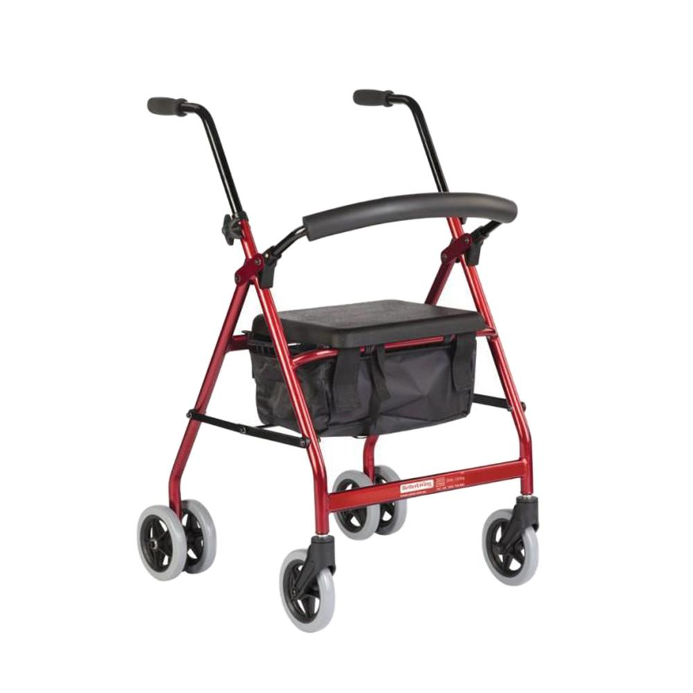 BetterLiving Push Down Wheeled Walker - Novis Healthcare