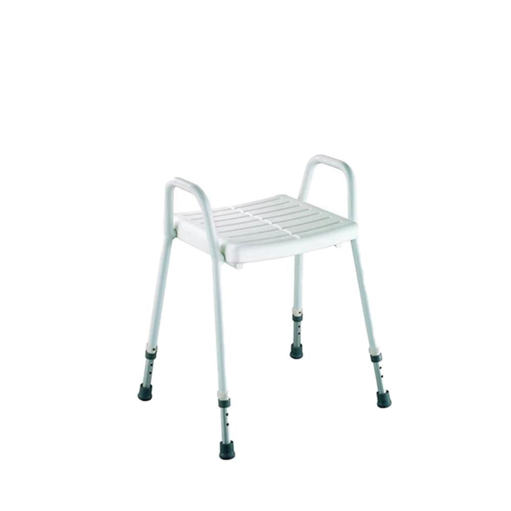 Aluminium Shower Stool, Clip-On Seat