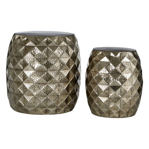 Set of 2 Drum Stools