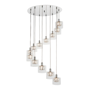 Vega 12 Drop Pendant Light